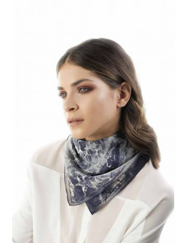 CLARENCE 60x60 - Silk Scarf