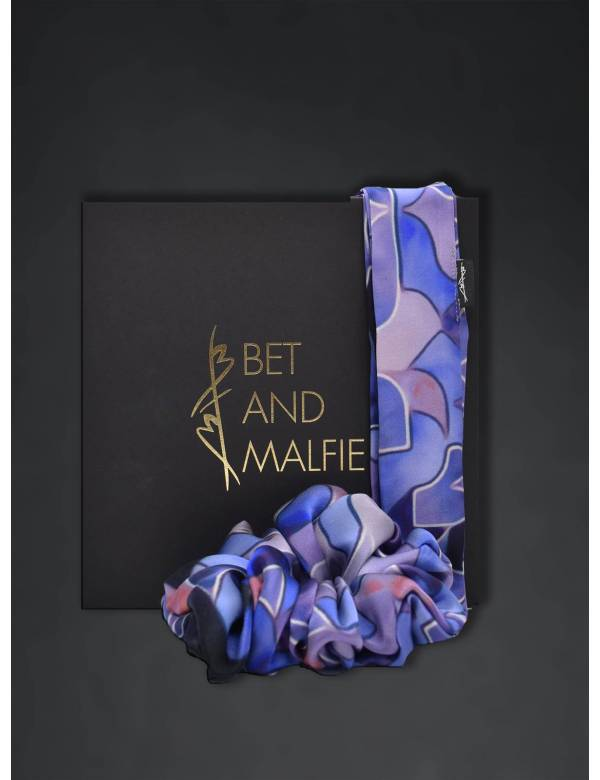 BEATRICE - Silk Scrunchie   Ribbon