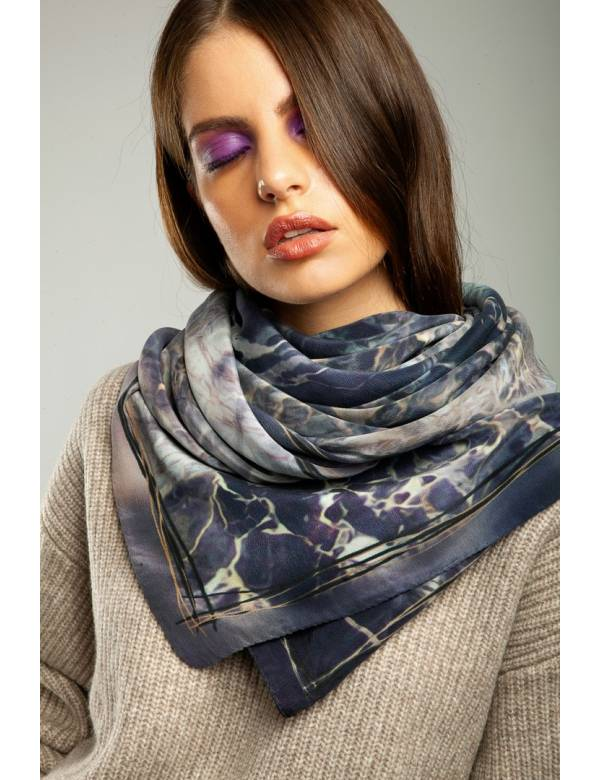 CLARENCE - Silk Scarf