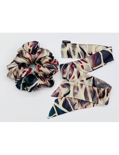 EVELYN – Silk Scrunchie | Ribbon