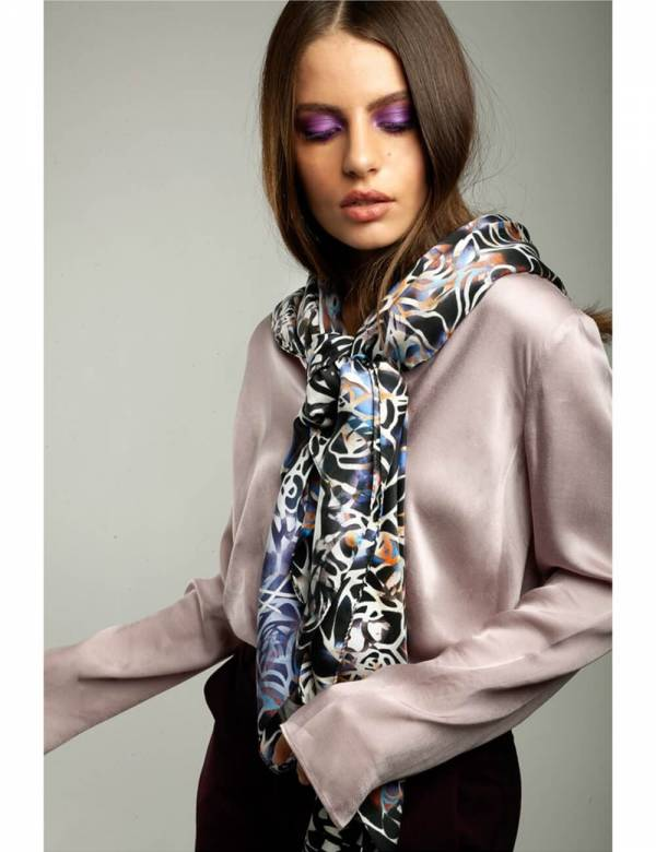 GEORGIA – Silk Scarf