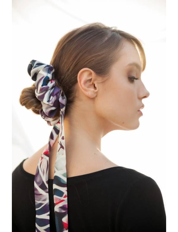 EVELYN – Silk Scrunchie | Ribbon