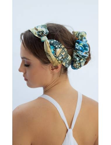 VILLY- Silk Scrunchie | Ribbon