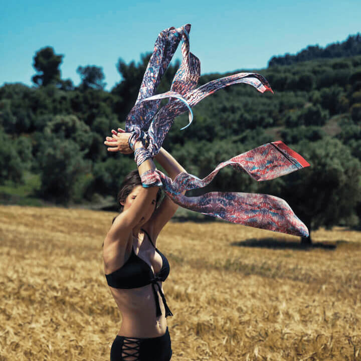 amelia silk scarf