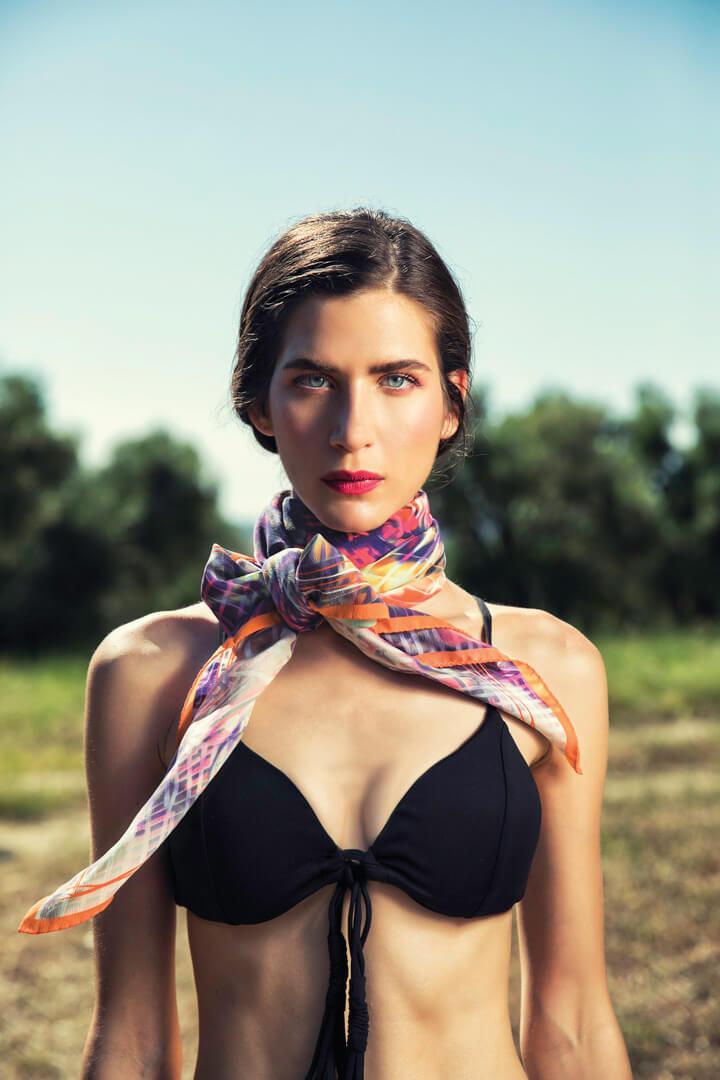 antonia silk scarf
