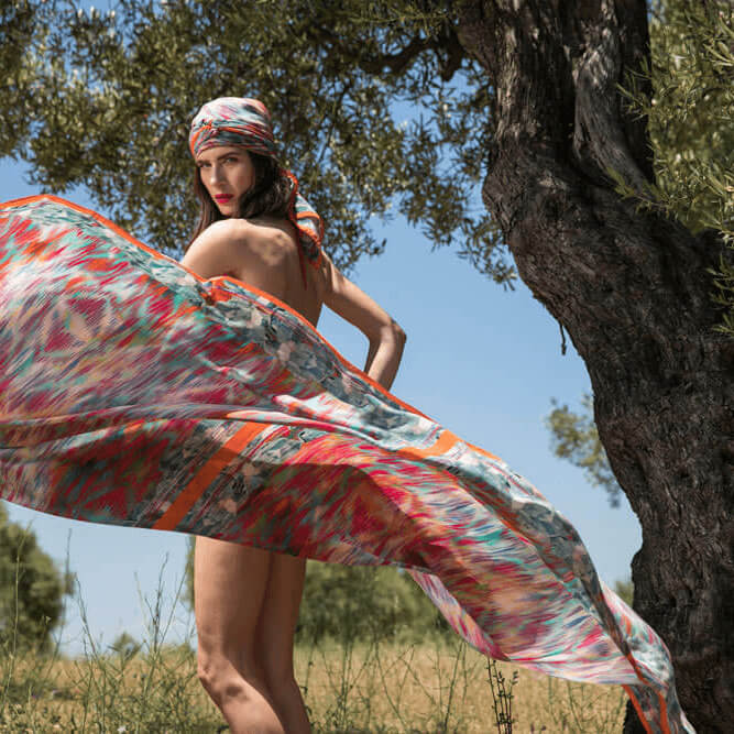 mileny silk scarf