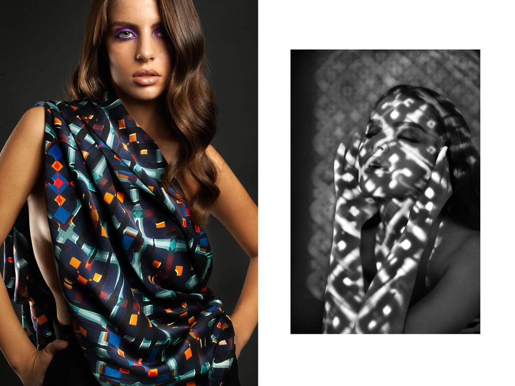 lorelei silk scarf