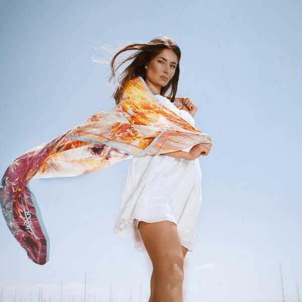 sinthia silk scarf