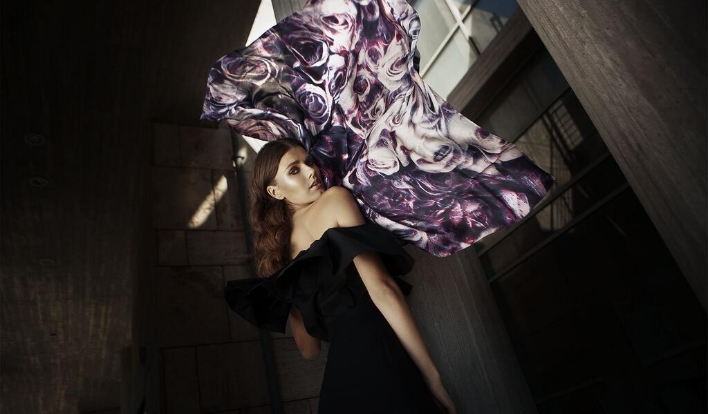 ania silk scarf