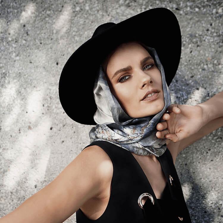 jordie silk scarf